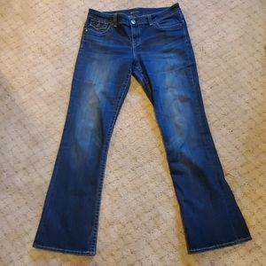 Kit from the Kloth Natalie Bootcut blue Jeans 12